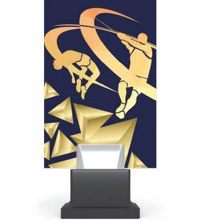 Trofeu plexiglas CG01C/ATH