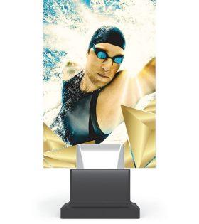 Trofeu plexiglas CG01C/SWI